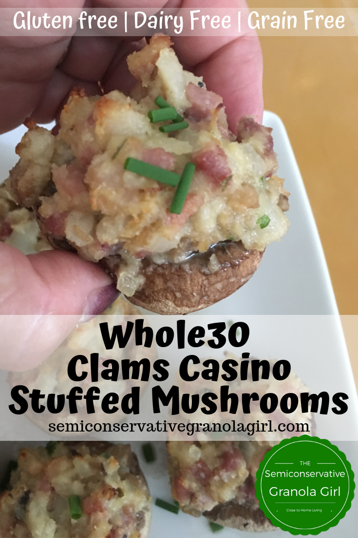 Casino Stuffed Mushrooms
